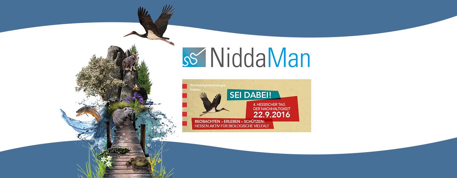 NiddaMan auf dem 4. Hessischen Tag der Nachhaltigkeit
