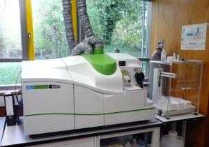 Messungen an der ICP-MS im Labor der Bodensee-Wasserversorgung