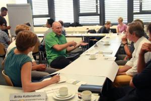 In Münster war Zeit für verbundprojektübergreifende Diskussionen und Gespräche.