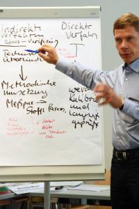 Prof. Dr. Jens Tränckner von der Univ Rostock erläutert Hintergrund und Ziele des Querschnittsthemas.