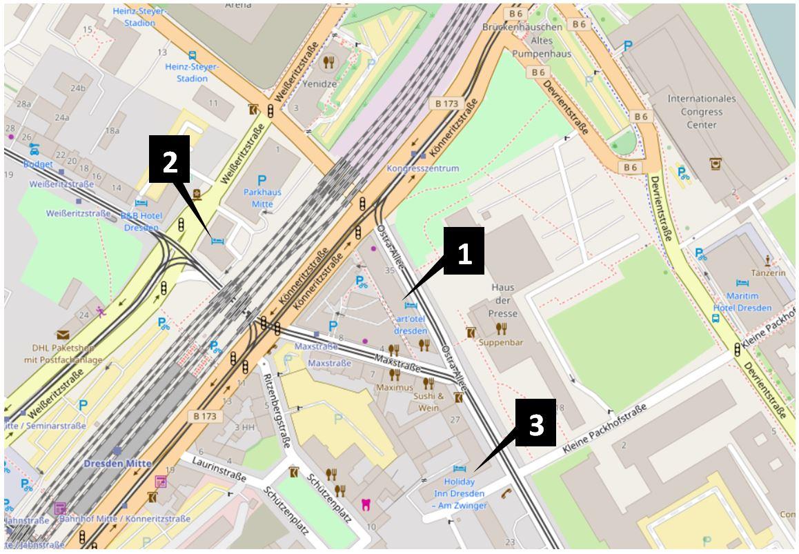 Lageplan_Übernachtung ReWaM-Statuskonferenz