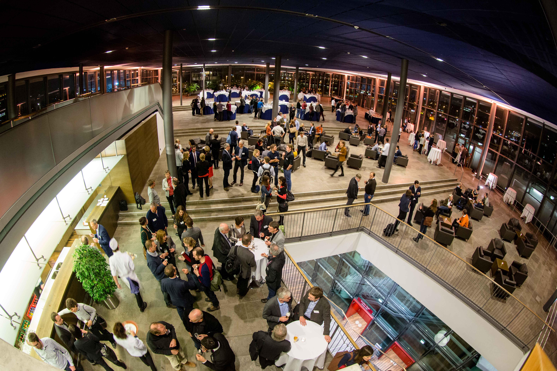 ReWaM Statuskonferenz ICC Dresden Abendveranstaltung