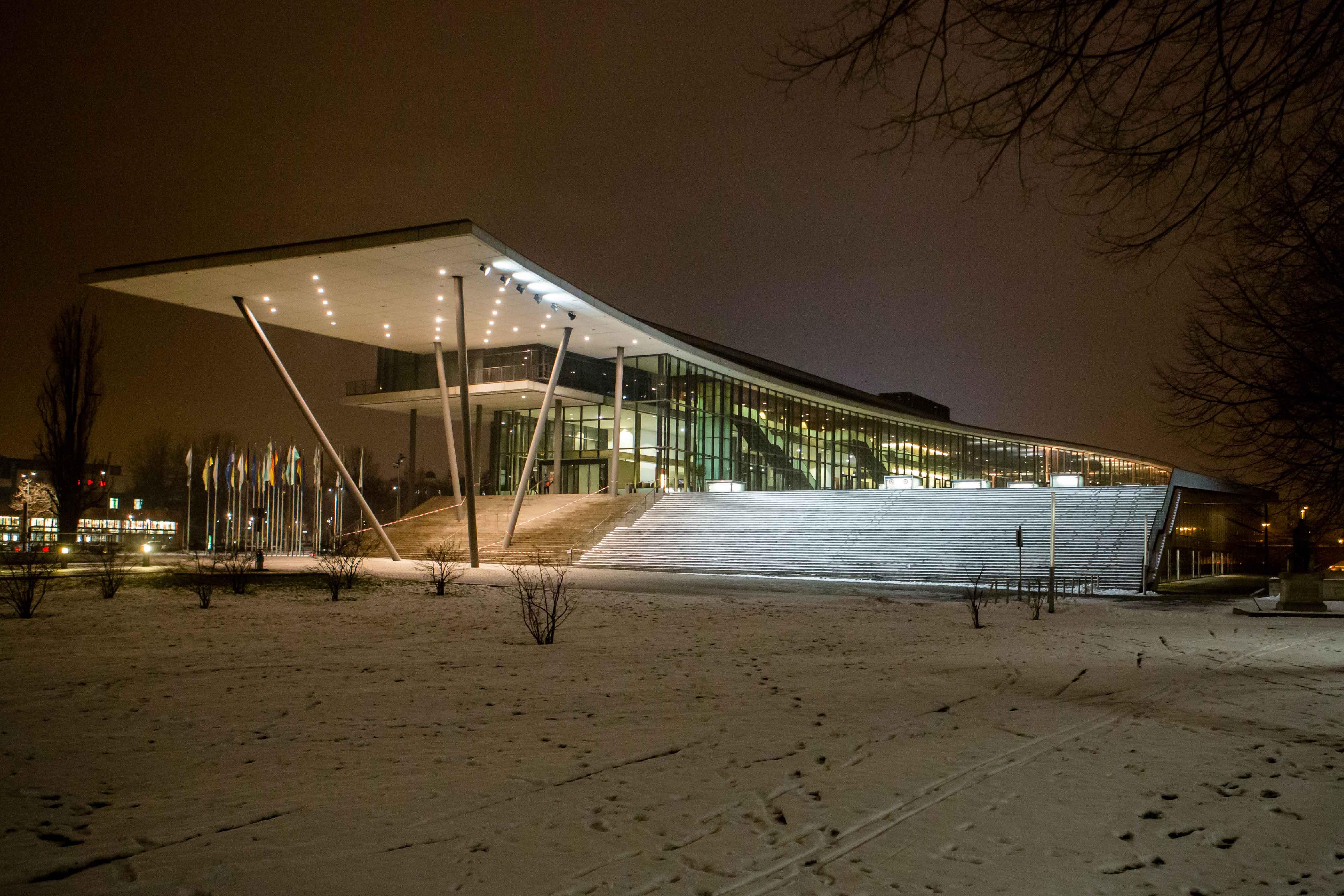 ReWaM Statuskonferenz ICC Nacht Dresden