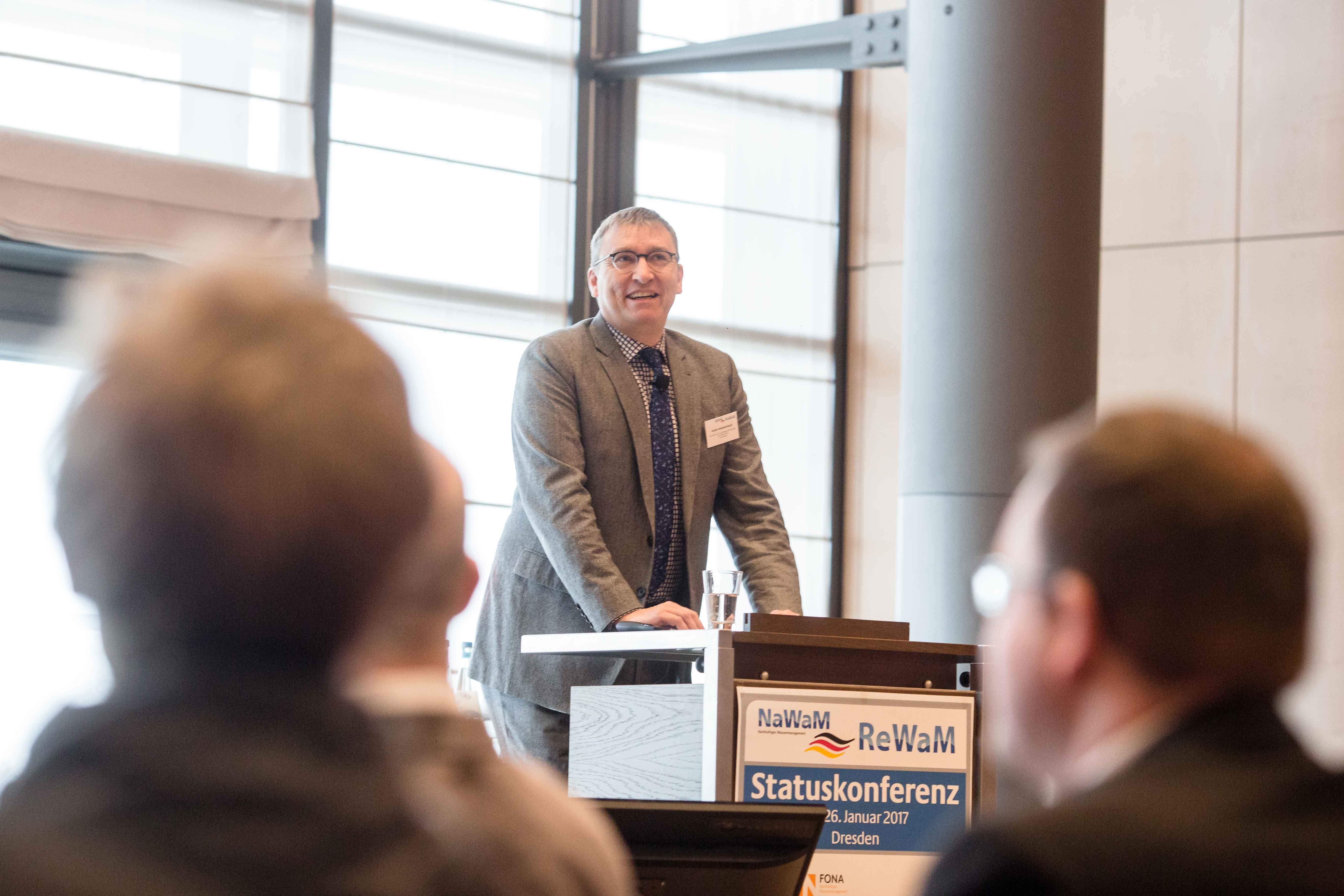 ReWaM Statuskonferenz Gastredner Weidenhaupt