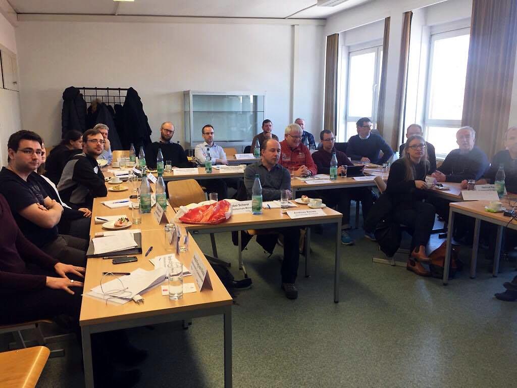 ReWaM Dresden QT-2 Arbeitstreffen Workshop