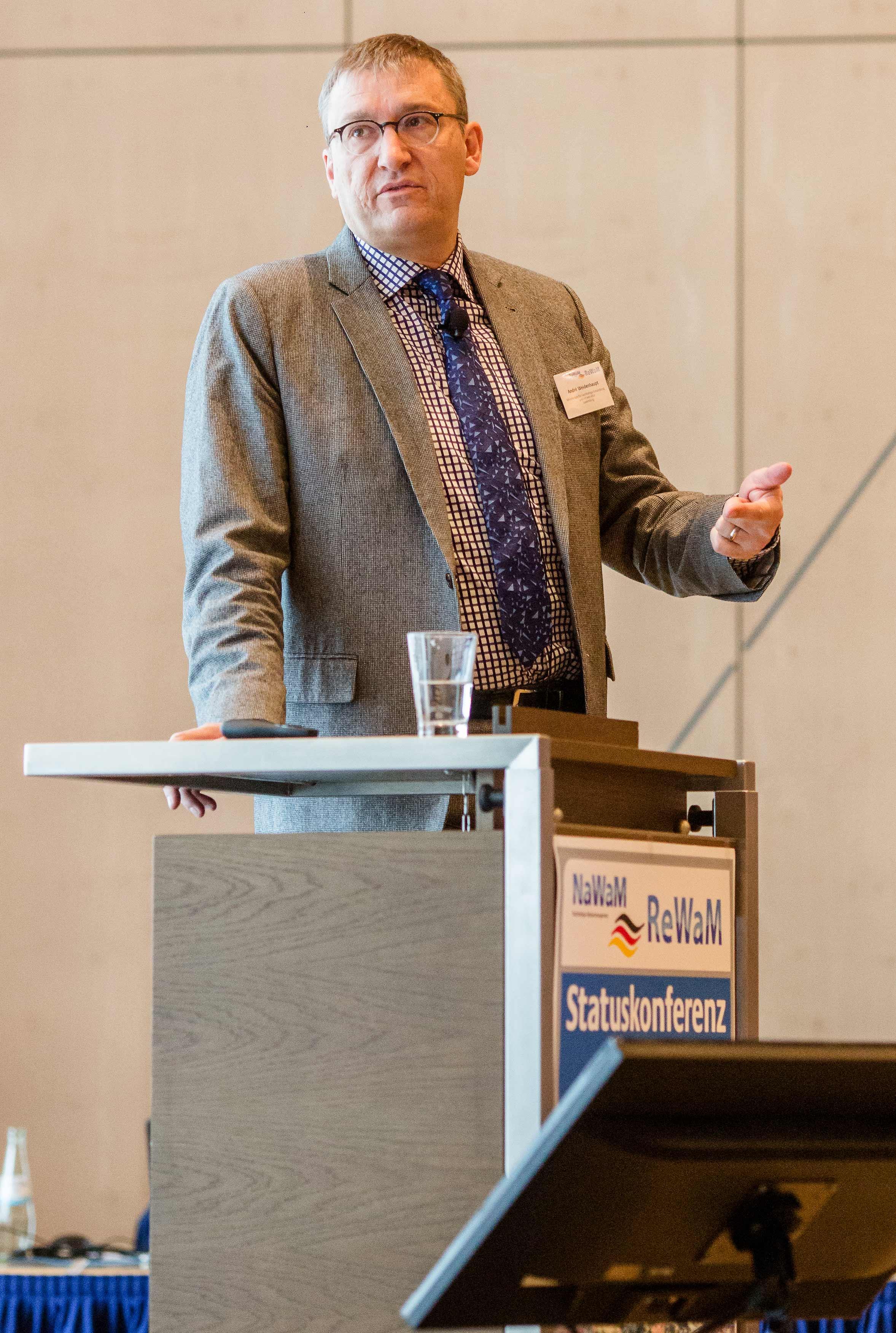Dr. André Weidenhaupt ReWaMnet RedeFluss Keynote