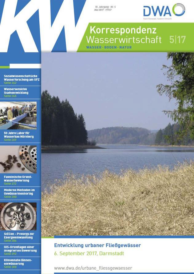 KW Korrespondenz Wasserwirtschaft_Ausgabe 5 2017