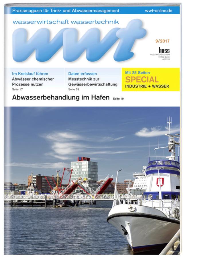 Fachzeitschrift Wasserwirtschaft Wassertechnik wwt