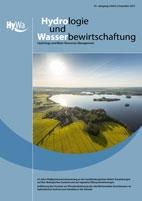 Titelseite der Fachzeitschrift Hydrologie und Wasserbewirtschaftung Jahrgang: Heft 1, Februar 2018
