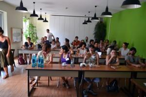 Die Summer School besuchten Teilnehmer von fünf Kontinenten. Foto: ISOE