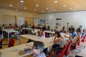 Während des sechstätigen Kurses war Raum für Diskussionen zum Thema transdisziplinäre Forschung. Foto: ISOE