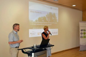 Jörg Oehlmann berichtet aus dem ReWaM-Projekt NiddaMan. Foto: ISOE