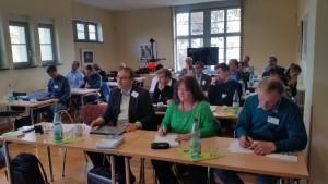 TeilnehmerInnen des ersten ReWaM-Anwenderworkshops