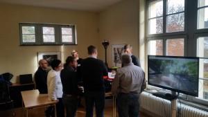 Diskussionen zum autonomen Messkatamaran RiverBoat