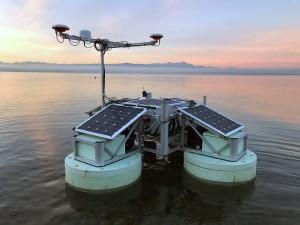 Universell einsetzbares, autonom operierendes Messsystem HydroCrawler. Quelle: Fraunhofer IBMT