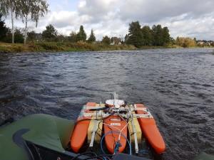 BOOT-Monitoring - Messkonzept für flache Gewässer. Quelle: TU Dresden