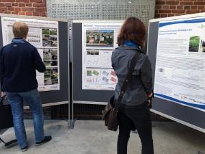 Posterausstellung mit zentralen Ergebnissen ausgewählter ReWaM-Projekte