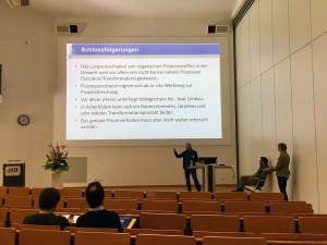 Vortrag von Prof. Dr. Jens Lange von der Uni Freiburg zu Ergebnissen aus MUTReWa