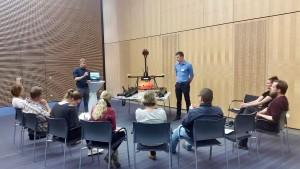 Der Messkatamaran aus dem Projekt RiverView stand bei einem von drei Anwendungsforen im Mittelpunkt